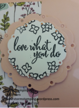 Love what you do frame