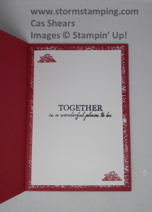 wedding card in