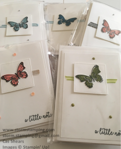 Butterfly gala Ad multi card