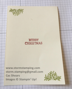 Cup of Christmas Card in