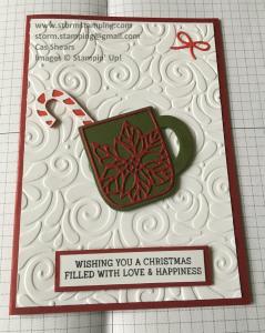 Cup of Christmas Swirls