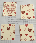 valentine Milk Carton layers