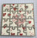 valentine puzzle die