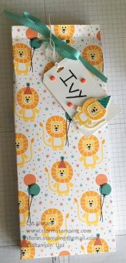 Birthday Bonanza party bag