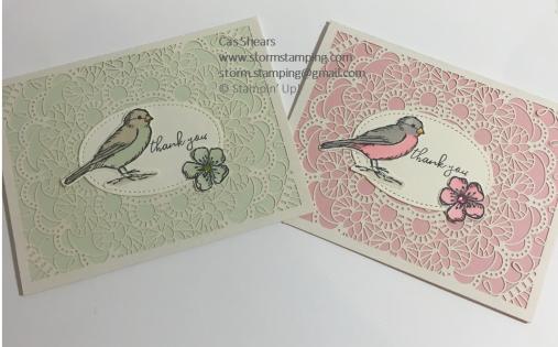 Bird Ballad Laser Cut Cards
