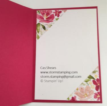 hello Fabulous card in