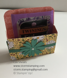 Ornate Garden Tea and biscuit Gifts single