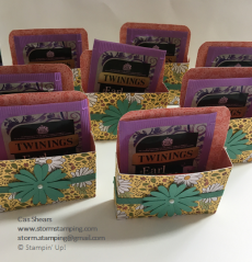 Ornate Garden Tea and biscuit Gifts